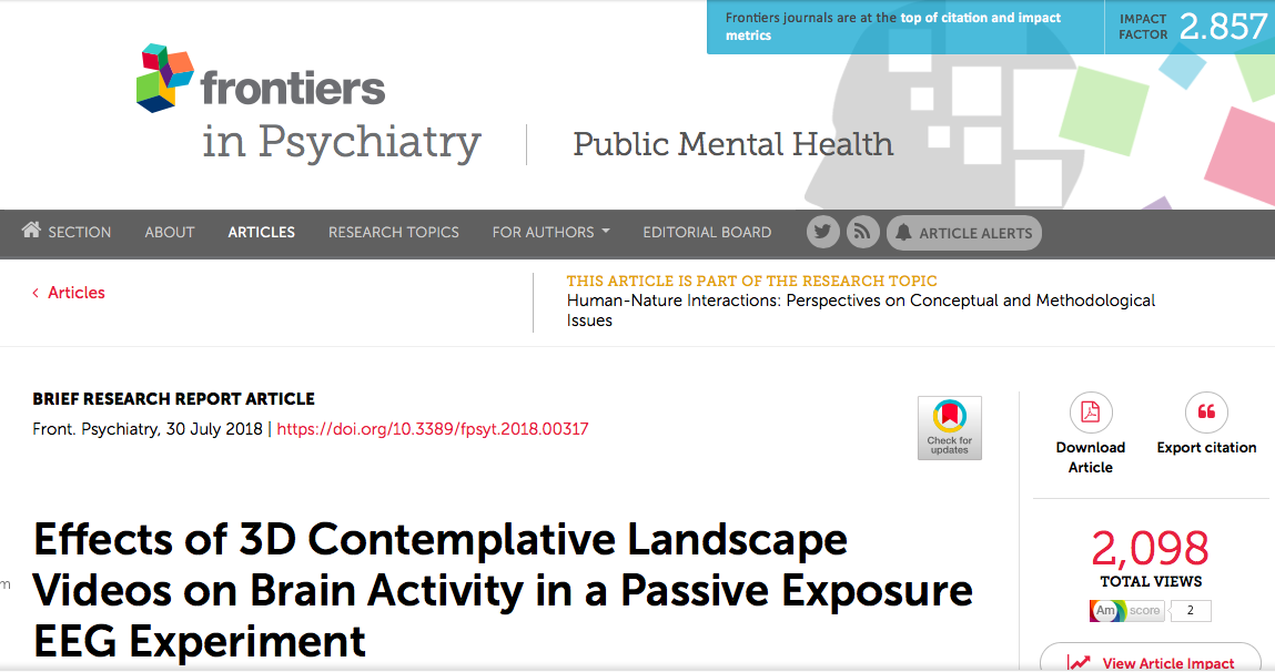 See what Contemplative Landscapes do to your brain!