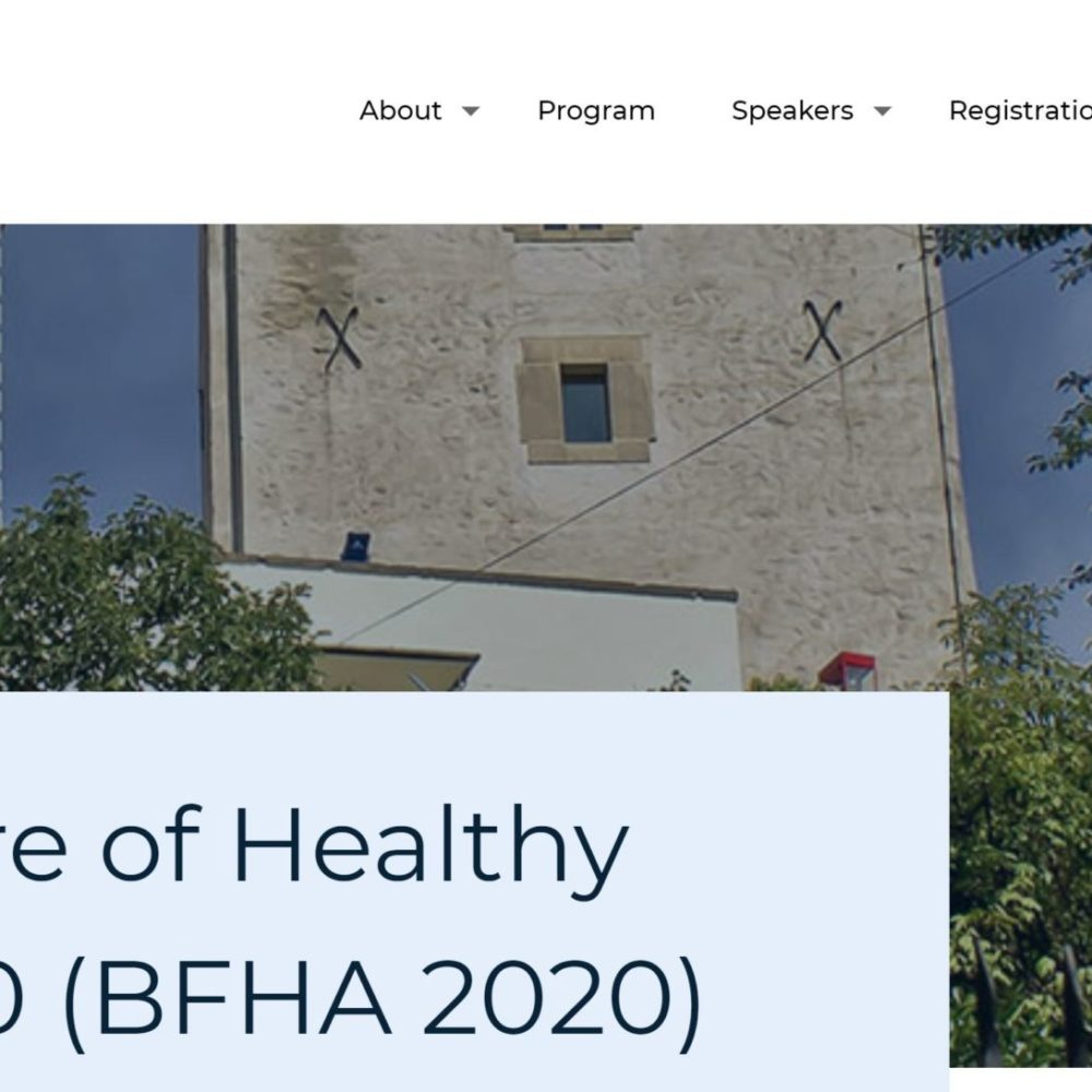 Better Future for Healthy Aging Conference (BFHA 2020) _FREE ONLINE REGISTRATION!
