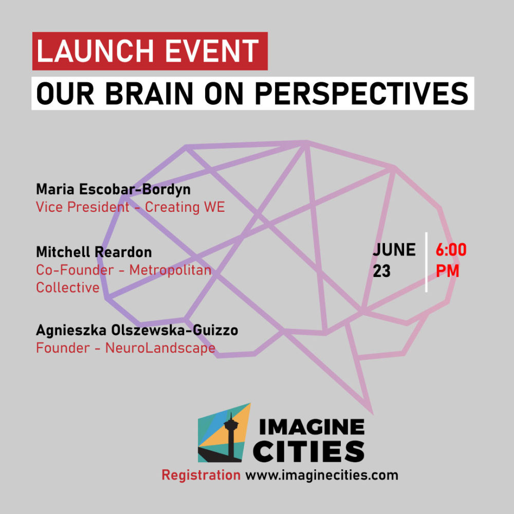 Our Brain On Perspectives by IMAGINE CITIES | 23rd June 2020