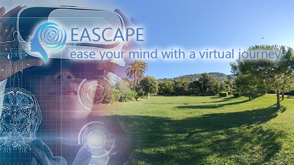 EASCAPE VR – our first Virtual Healthy Environment